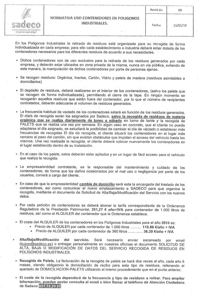 normativa_contenedores_sadeco